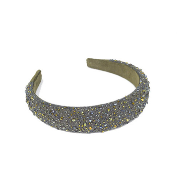 Picture of Crystal Headband 30 Mm Green