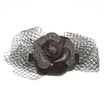 Picture of Audace Crystal Hair Clip Black