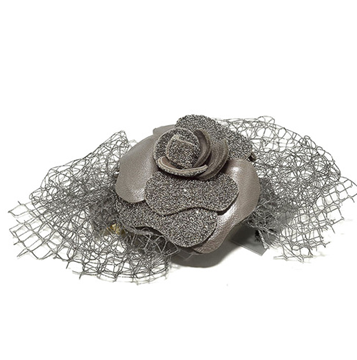 Picture of Audace Crystal Hair Clip Grey