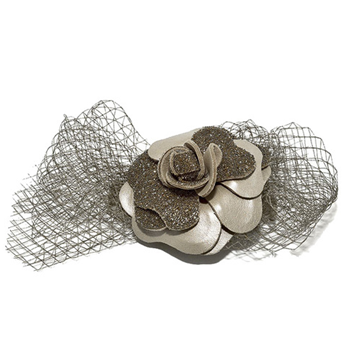 Picture of Audace Crystal Hair Clip Taupe