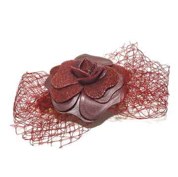Picture of Audace Crystal Hair Clip Red