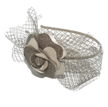 Picture of Audace Crystal Alice Band Taupe