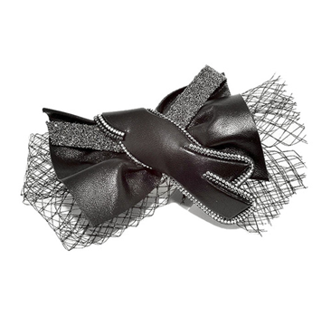 Picture of Daiquiri Crystal Hair Clip Black