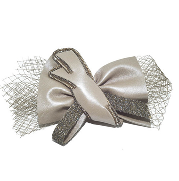 Picture of Crystal Daiquiri Hair Clip Taupe