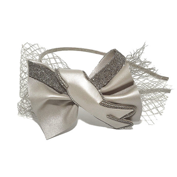 Picture of Crystal Daiquiri Alice Band Taupe