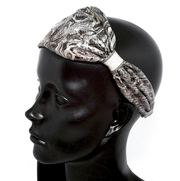 Picture of Python Headband Amber Latte