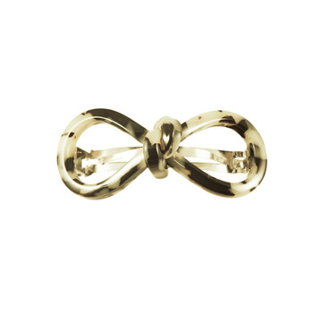 Picture of Hair Clip Bow 8 S Lt - Hand Made In France