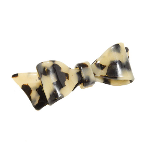 Picture of Hair Clip Bow Dbl L Lt - Hand Made In France