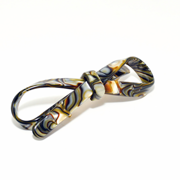 Picture of Hair Clip Bow Chic S On - Hand Made In France