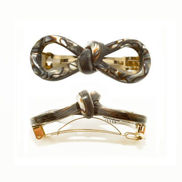 Picture of Hair Clip Bow 8 S On - Hand Made In France