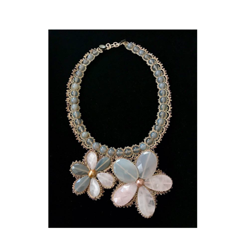 Picture of Mikaela Necklace Gris Rose