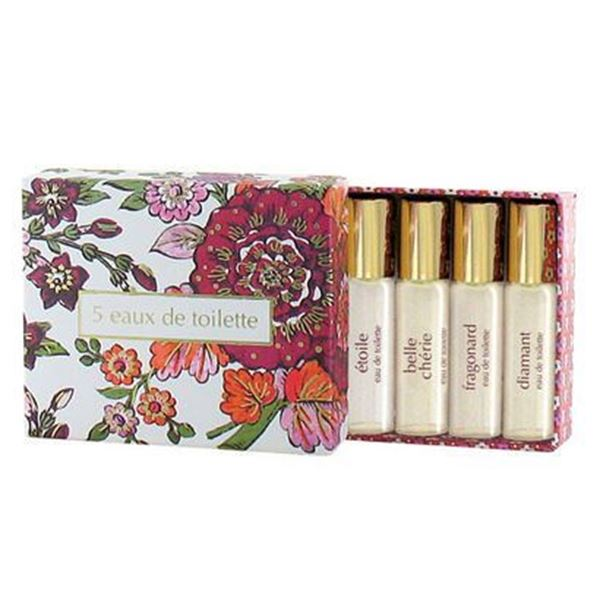 Picture of Gift Box EAUX DE TOILETTE 5 x 5ml Spray
