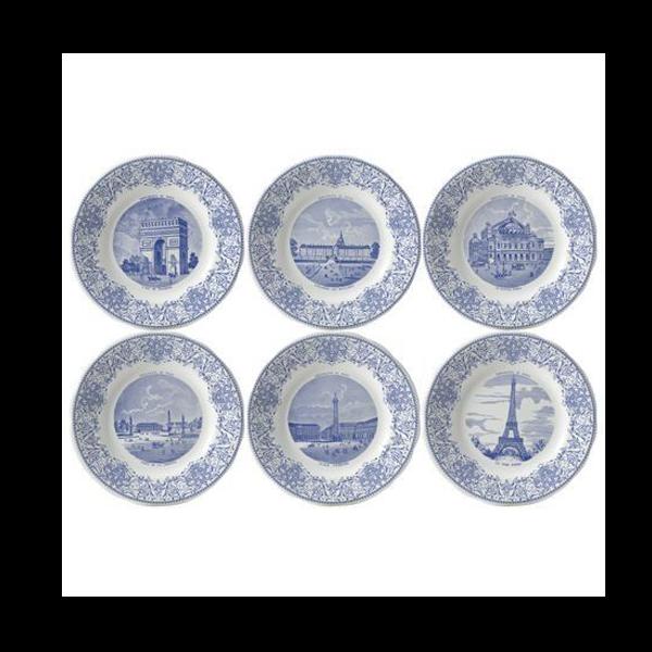 Picture of Assiettes à Thème 6 Dessert Plates Ø 19,8 cm