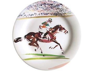 Picture of Cavaliers 4 Canape Plates Ø 16,5 cm