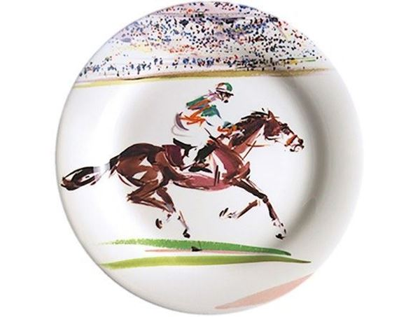 Picture of Cavaliers 4 Canape Plates Ø 16,5 cm