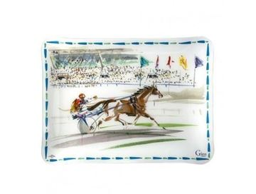 "Picture of Cavaliers 1 Serving Tray 12"" x 8 2/3"" 30 x 22 cm - 12"" x 8 2/3"""