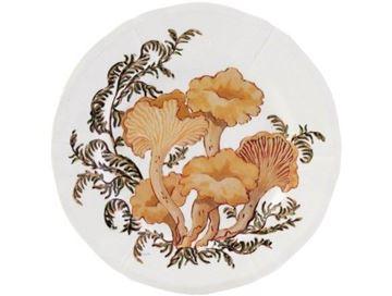 Picture of Chanterelle 4 Canape Plates Ø 16,3 cm