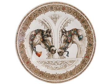 Picture of Chevaux du Vent 4 Dessert Plates Ø 21,8 cm