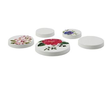 Picture of Millefleurs 5 Assorted Heat-proof Table Mats Ø 10cm (x1), Ø 8cm (x2), Ø 6cm (x2)