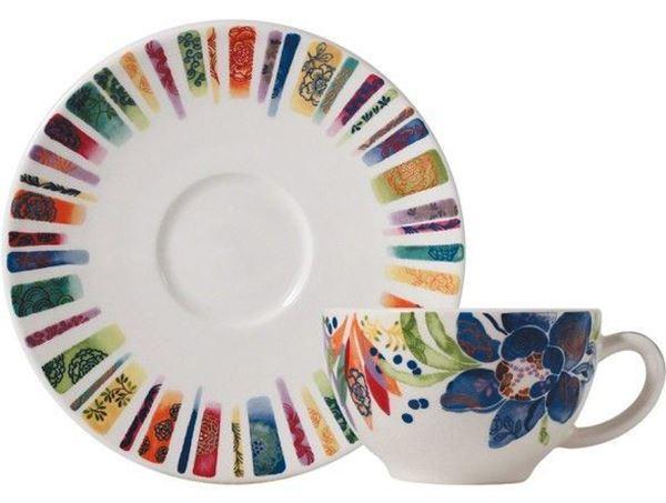 Picture of Eden 2 Tea Cups & Scrs 16 cl - 15,2 cm