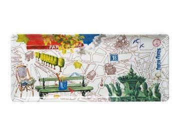 Picture of Paris.Paris 1 Oblong Serving Tray 36 x 15,5 cm