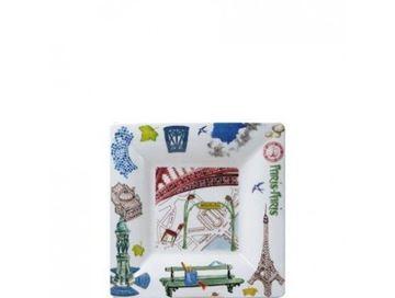 Picture of Paris.Paris 1 Square Tray n°2 17 x 17 cm