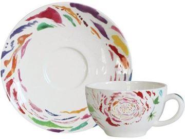 """Picture of Passion 2 Tea Cups & Saucers 16 cl, Ø 15,2 cm - 6 oz, 6"""" dia"""