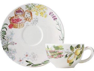 Picture of Provence 2 Tea Cup & Saucer 16 cl, Ø 15,2 cm