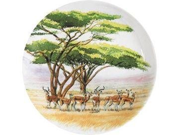 """Picture of Safari 4 Canape Plates Ø 17 cm - 6 1/2"""" dia"""