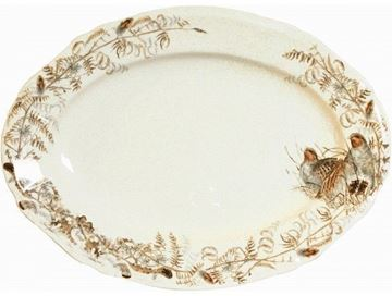 Picture of Sologne 1 Oval Platter nr 8 45 x 33 cm