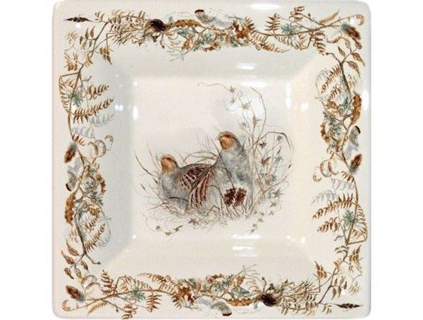 Picture of Sologne 1 Square Tray n°2 17 x 17 cm