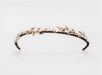 Picture of TIARA VICTOIRE gold/black