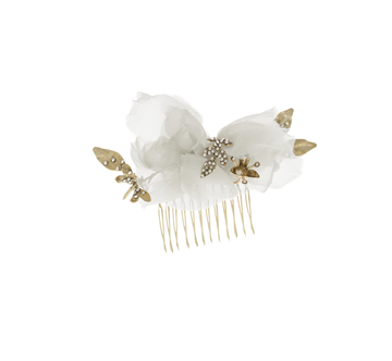 Picture of HAIR COMB MADAME ivory