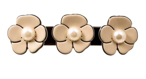 Picture of Pearl Camellia Barrette