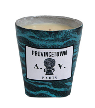 Picture of John Derian and Astier de Villatte Provincetown candle blue