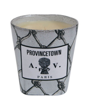 Picture of John Derian and Astier de Villatte Provincetown candle white